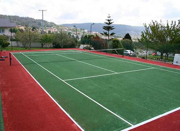 Pista de tenis en A Coruña