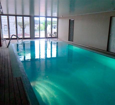 Proyecto de piscina de ContractPool en Luintra
