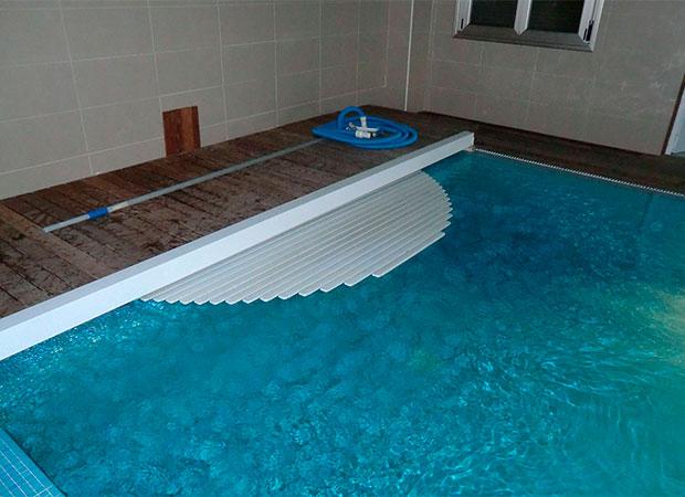 Proyecto de piscina en Luintra cubierta para piscina