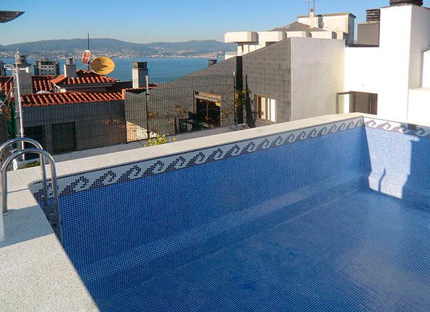 Contractpool proyecto piscina vigo pontevedra for Empresas de construccion en vigo