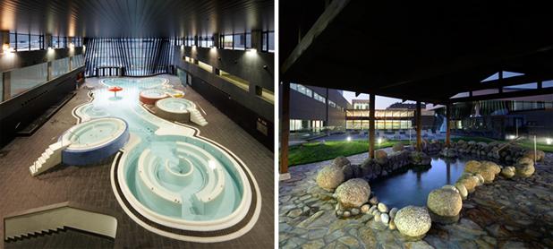 varios proyectos de piscinas, spas y pistas deportivas ContractPool
