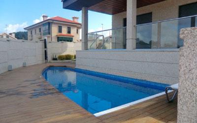 Contractpool proyecto piscina samil vigo pontevedra for Empresas de construccion en vigo