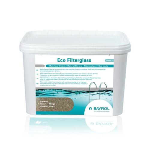 medio filtrante eco filterglass grado 1 20kg de bayrol
