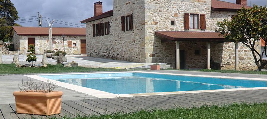 ContracPool diseño construccion mantenimiento reforma de piscina e instalaciones deportivas pistas de tenis y padel en Pontevedra A Coruña Lugo Ourense Galicia