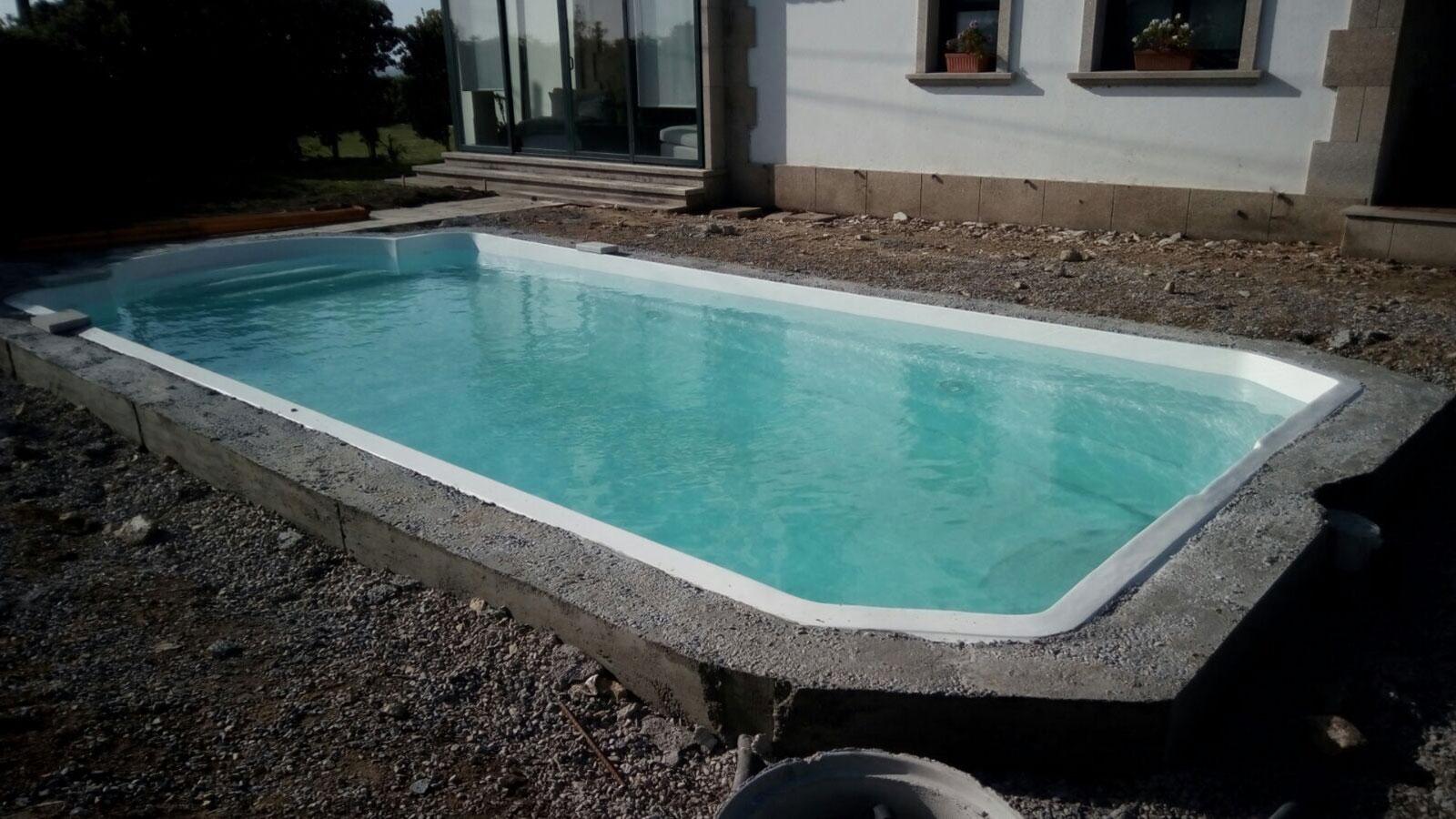 proyecto de piscina en corrubedo, A Coruña