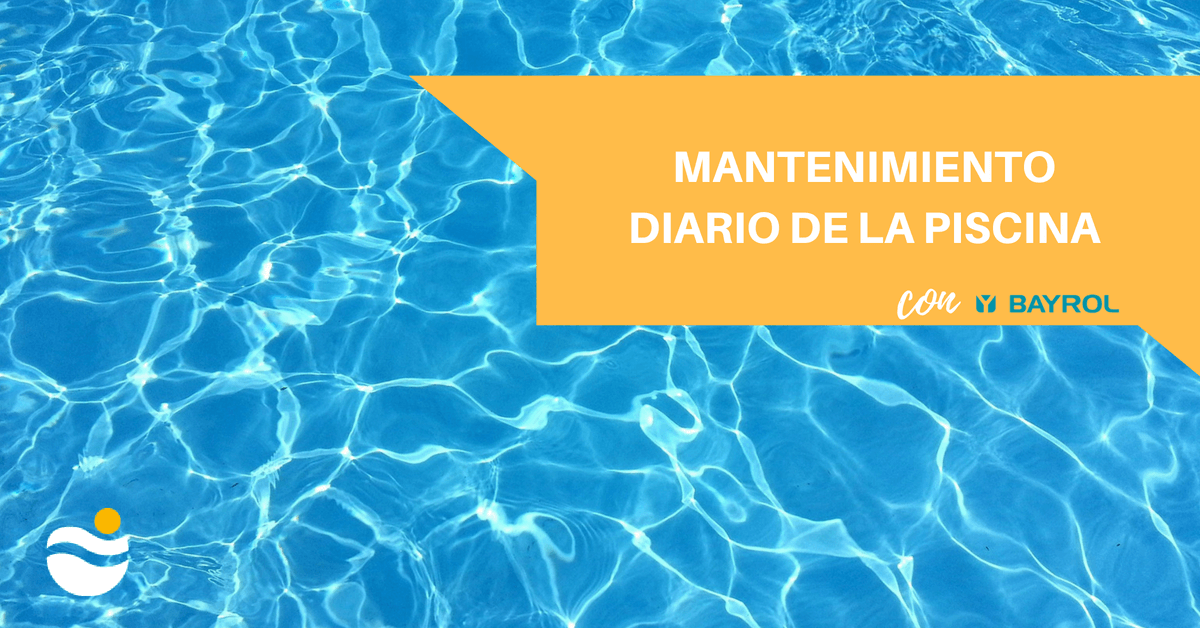 mantenimiento diario de la piscina con bayrol contractpool